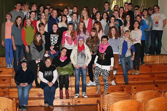 Spotkanie z młodzieżą I Liceum im. B.Chrobrego