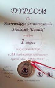 XX Spartakiada Amazonek - Poznań 2014